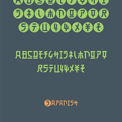 Japanish Typeface