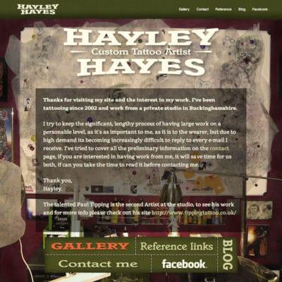 Hayley Hayes portfolio