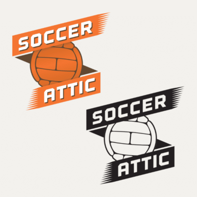 Soccer Attic logo and website