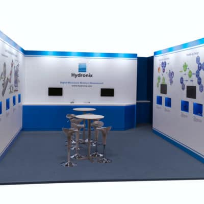 Hydronix Bauma 2019 exhibition stand